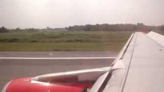 Nakhonpanom Thailand  city images : Landing at Nakhon Phanom Airport (Nakhon Phanom-Thailand)