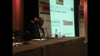 zim news : Zim Invest Fair 2013 Question And Answer Session