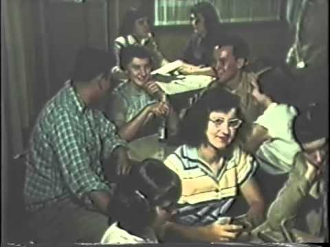 Gary Indiana - Footage from Gary Indiana in the 1950s. Dedication of Elbert Gary statue and fun times at the Gary-Alerding Settlement House.