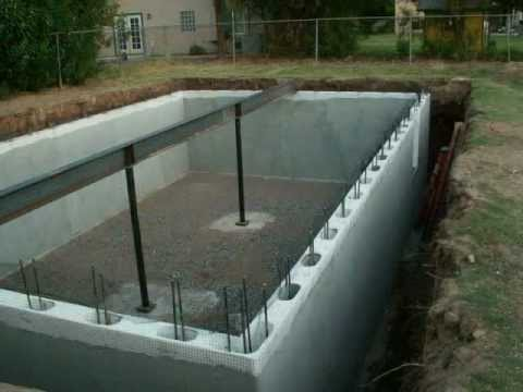 Green rhino building systems basement project free video for Icf builders in arizona