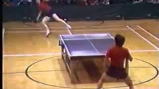 Ping-pong  : un échange pas comme les autres