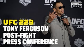 Video UFC 229: Tony Ferguson Post-Fight Press Conference - MMA Fighting MP3, 3GP, MP4, WEBM, AVI, FLV Juli 2019