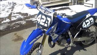 9. 2006 YZ 125 Update (Before and After)