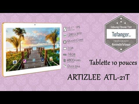 Artizlee ATL-21T : tablette 10 pouces bon rapport qualité prix