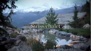 Crans Montana Switzerland  city images : Swiss luxury chalet in Crans Montana