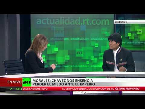 Versión completa de la entrevista con Evo Morales, presidente de Bolivia