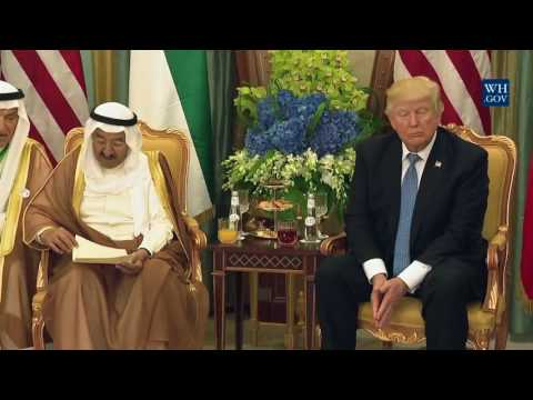 President Trump Meets with the Emir of Kuwait - 5/21/17