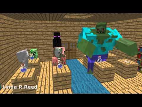 Minicraft 2016 - Monster School - Alchemy - Minecraft Animation