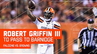 RGIII's Perfect TD Pass to Gary Barnidge! | Falcons vs. Browns | NFL by NFL