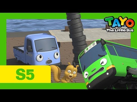 Tayo S5 EP2 l Rogi's extraordinary challenge l Tayo the Little Bus