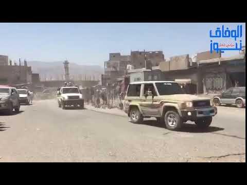 شاهد وصول التعزيزات العسكرية الى جبهات قعطبة بالضالع دعما للقوات الحكومية والمقاومة الشعبية