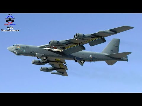 Boeing B-52 Stratofortress Takeoff The...