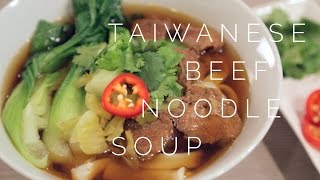This is my Uncle's delicious Taiwanese Beef Noodle Soup recipe. Great for warming you up on a cold day. I've modified it so we...