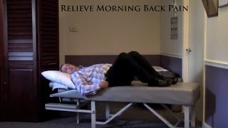 Dr. Brett Cardonick - Relieve Morning Low Back and Neck Pain