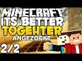 Let's Anzock: Minecraft Beta 1.8 IT'S BETTER TOGETHER - Minecraft Adventure Map [2/2] | Fr3akzLP