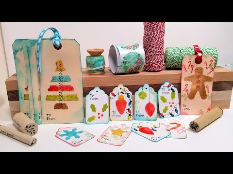 DIY Gift Wrap Kit! Tags, Labels & Washi Tape to Dress Up your Gifts!