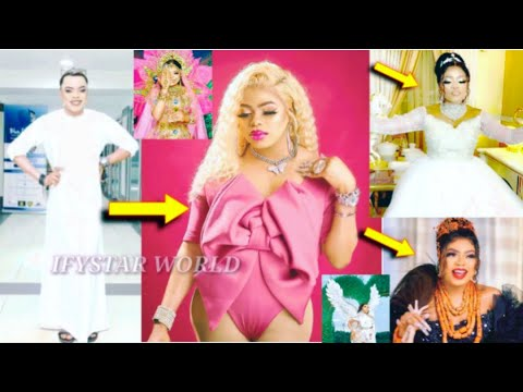 VIDEO!! TRANSGENDER Bobrisky Wears BIKINI To EXPOSE His TRANSFORMATION to Woman On His/Her Birthday