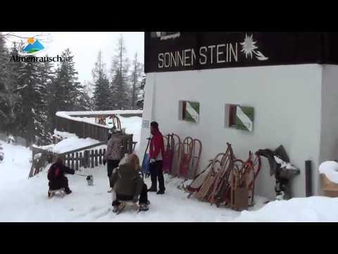 Rodelbahn Alpengasthof Sonnensteinv - Stubaital (видео)