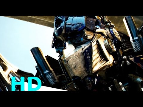 Optimus Prime vs. BoneCrusher - Transformers-(2007) Movie Clip Blu-ray HD Sheitla