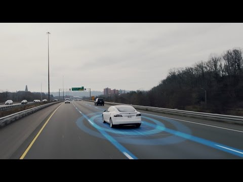 How To Enhance a Daily Commute in a Tesla Model S Using the Autopilot