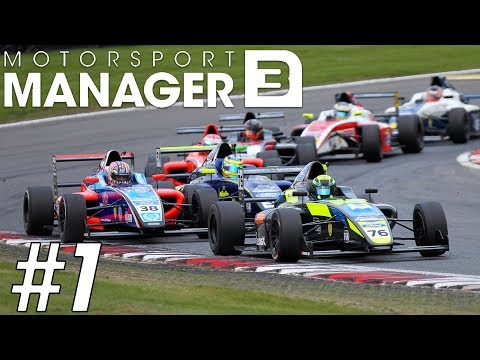 Motorsport Manager Mobile 3 Career Mode - Part 1 FIRST RACE & NEW DRIVER!