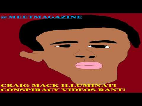 Craig Mack ILLUMINATI CONSPIRACY VIDEOS RANT! Don't even think about it! SHOW SOME RESPECT BOY! HA!