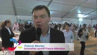 Patrick Montel, Journaliste Sportif France Télévisions, Soutient Paris 2018!