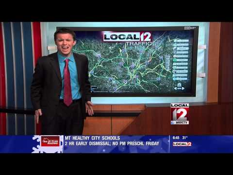 Ohio Traffic Reporter Sings Parody of Let It Go From