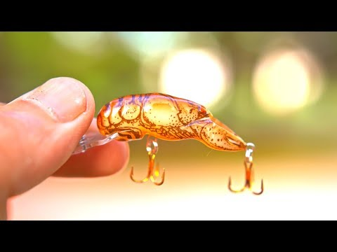 Video TINY Lure Challenge!!! - Ep.4 (Micro Crawfish?) download in MP3, 3GP, MP4, WEBM, AVI, FLV January 2017