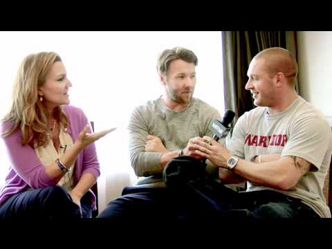 Vanity Fair interview with Joel Edgerton and Tom Hardy at Comic Con 2011 (видео)