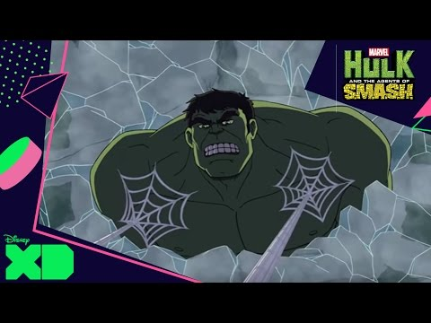 Hulk And The Agents Of S.m.a.s.h. | Venom Gevecht | Disney Xd Nl