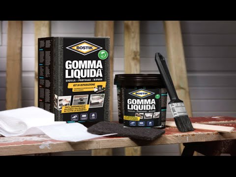 Bostik Gomma Liquida - Sigilla, ripara, protegge