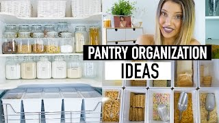 PANTRY ORGANIZATION IDEAS | PANTRY MAKEOVER ON A BUDGET