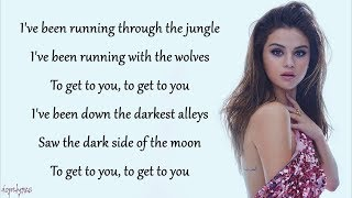 Video Wolves - Selena Gomez, Marshmello (Lyrics) MP3, 3GP, MP4, WEBM, AVI, FLV Mei 2018