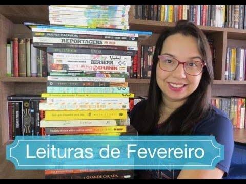 Leituras de Fevereiro| Livros, quadrinhos e mangá| Blog Leitura Mania