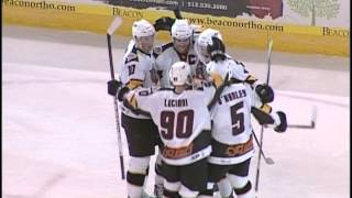 Cyclones vs Stingrays - December 21, 2012