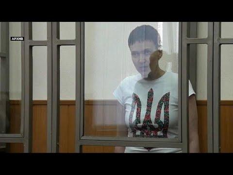 Ukraine: Ex-Soldatin Sawtschenko aus der U-Haft entla ...