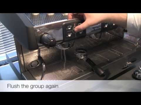 Traditional Espresso Machine Cleaning
