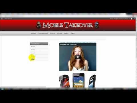 Mobile Takeover – WSO Warrior Forum – Mobile Marketing Information