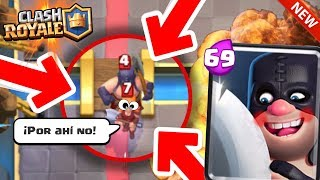 💣 Chicos hoy Veremos los Mejores funny moments de Clash Royale, Momentos Graciosos con Cartas Legendarias, Bugs, glitches, etc.🔥Redes Sociales OFICIALES del Canal:➜Twitter: https://twitter.com/TheMike2311  ➜Instagram: https://instagram.com/themike2311►ClashLoL:https://www.youtube.com/channel/UCsSU09qRPYHpHxWDuOjlhpg►Videos:https://www.youtube.com/watch?v=-EYjcMiqv5E&t=4shttps://www.youtube.com/watch?v=DlXkyeckzPE&t=4s➜CRACKS:►ByMaxx: https://www.youtube.com/channel/UCX4_neTqzb70JUh93Dony-A►DollarGames: https://www.youtube.com/channel/UCpPF2MdnwJlep2xKEre4NKw►Antrax:https://www.youtube.com/channel/UCNbwP-bKUlKrE_5qDwvFILQ