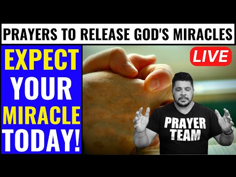 ( ONLINE PRAYER LIVE ) POWERFUL PRAYERS TO RELEASE GOD'S MIRACLES - EXPECT YOUR MIRACLE TODAY!