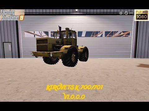 Kirovets K-700/701 v1.0.0.0