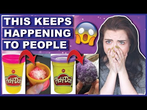 Play doh - THROW OUT Your Old Play-Doh Before This Happens!