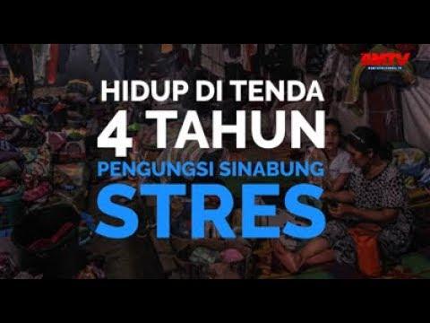 Hidup Di Tenda 4 Tahun, Pengungsi Sinabung Stres