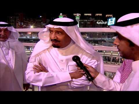 #فيديو :: كلمة #الملك_سلمان بعد تفقده موقع حادث رافعة_الحرم