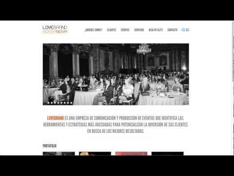 Página Web para Productora de Eventos