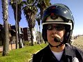 On a beautiful Thanksgiving weekend on the Venice bike path an LAPD officer was blocking the path on his motorcycle and another young girl was partially bloc...