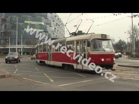 ČR - doprava - tramvaj - Praha