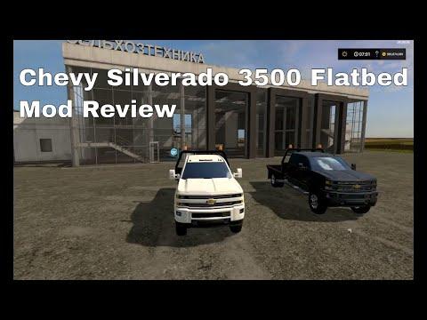 Chevy Silverado 3500HD Flatbed v1.0