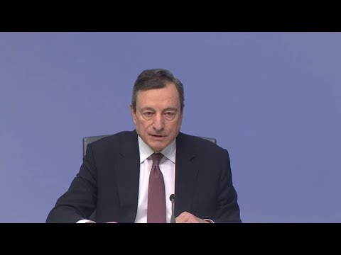 Pressekonferenz: Draghi verschiebt Zinswende mindeste ...